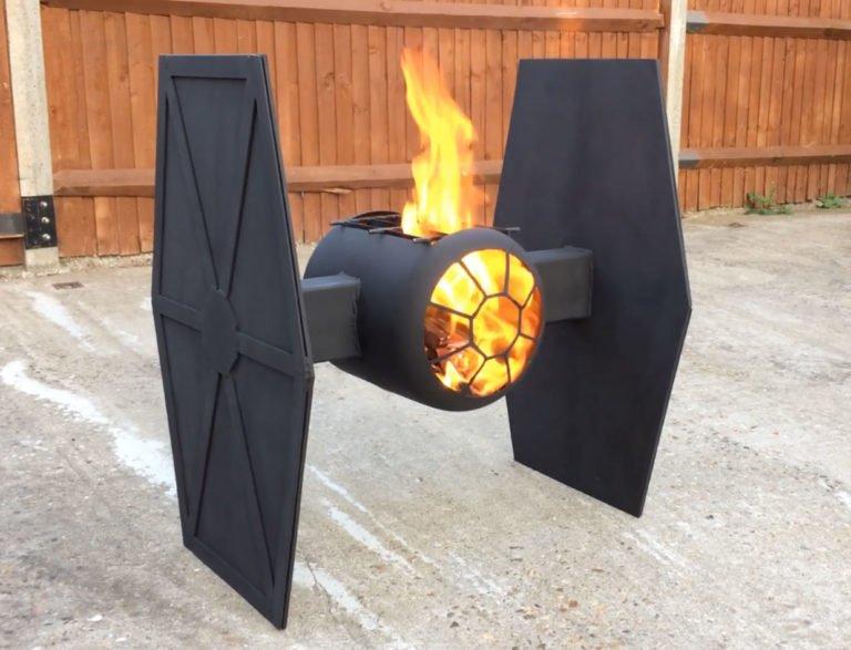 Tie Fighter -grilli