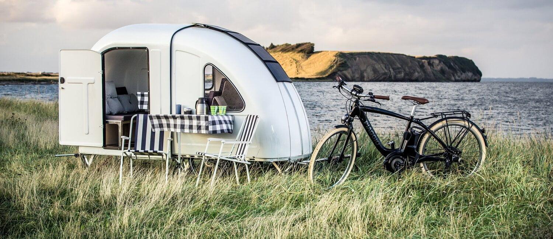 Polkupyörä - asuntovaunu - Wide Path Bicycle Camper