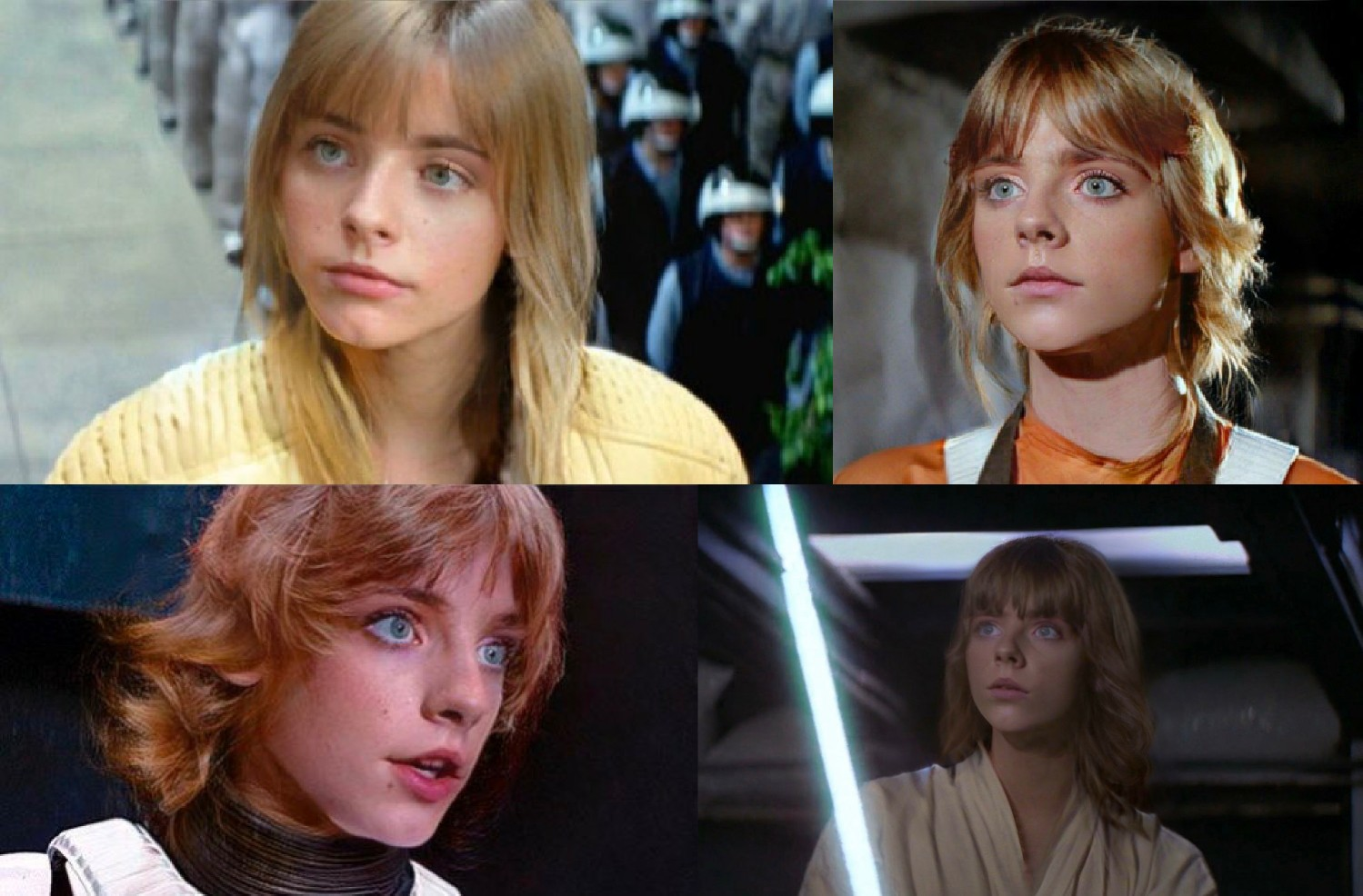 Luke Skywalker naisena