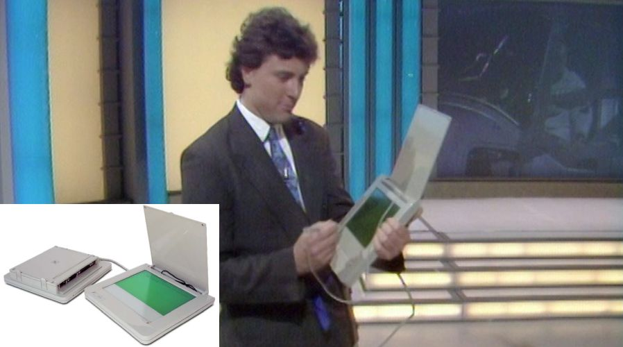 #OnThisDay 1988: Tomorrow's World featured a portable 'electronic notepad'. It'll never catch on