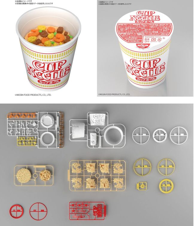 Bandai - Nissin Cup Noodle rakennussarja