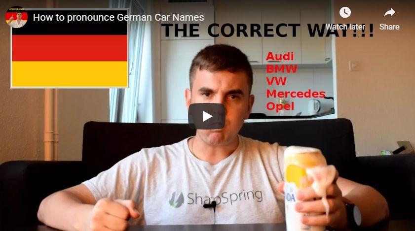 Näin äännetään saksalaiset autojen merkit // Kuinka äännetään saksalaiset automerkit ?