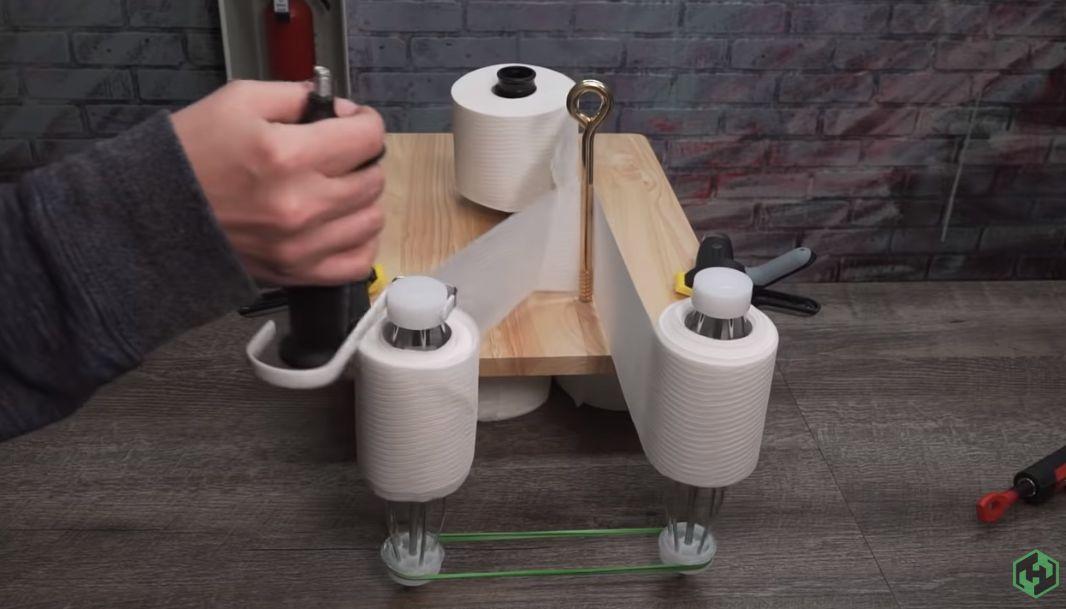 Toilet Paper Splitting Machine