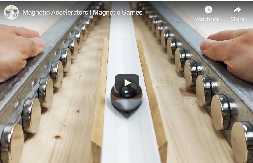 Magnetic Accelerators Magnetic Games