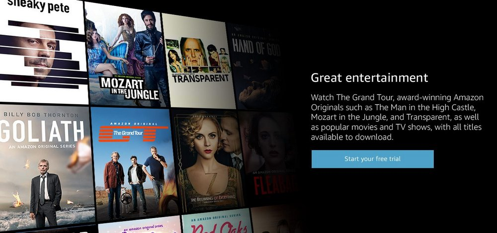 Tekemistä sadepäiville: Lataa elokuvia helposti Amazon Prime Video –palvelusta